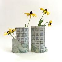 windows vase pair
