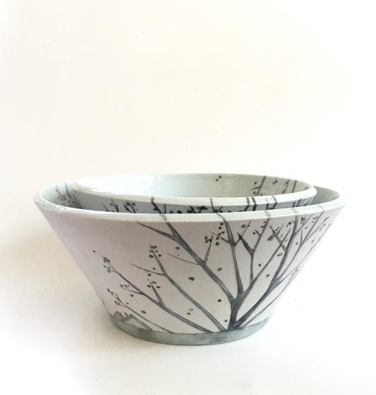 spring tree bowls