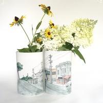 San Fransisco vase pair