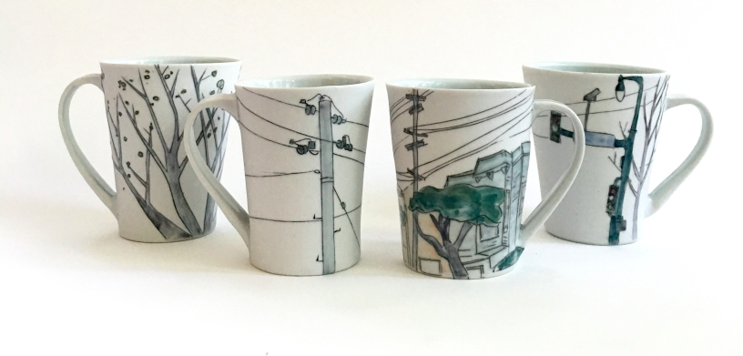 city coffee mugs
